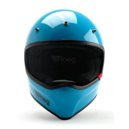 Motorcycle helmet Roeg Moto Peruna Sky gloss, Vintage Helmets