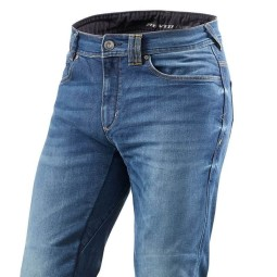 Jeans Moto REVIT Philly 2 Blu Used, Jeans Moto