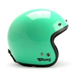 Motorcycle jet helmet ROEG Moto JETT Dusty Jade gloss ,Jet Helmets