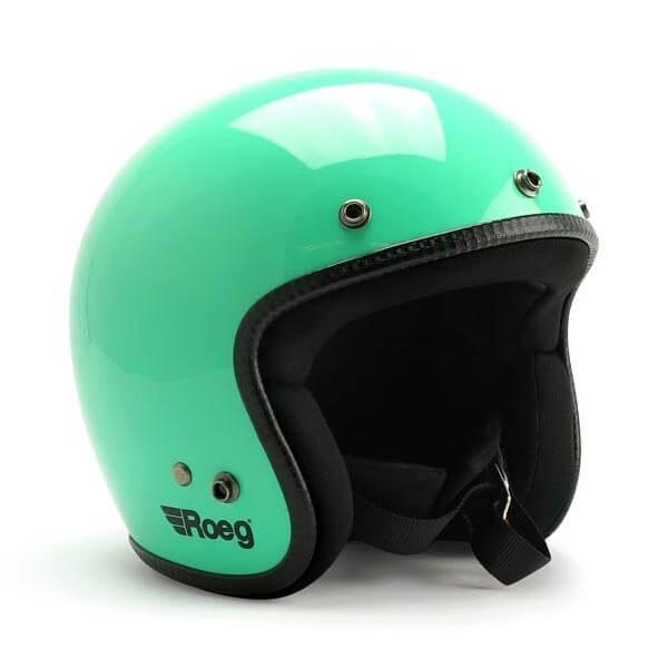 Motorcycle jet helmet ROEG Moto JETT Dusty Jade gloss