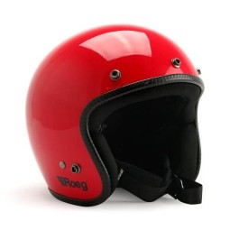 Casque jet moto ROEG Moto JETT Flaming Red gloss