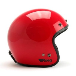 Casco jet de moto ROEG Moto JETT Flaming Red gloss