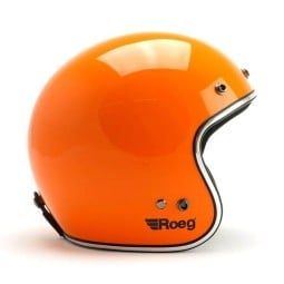 Casco jet de moto ROEG Moto JETT Corn Yellow Gloss