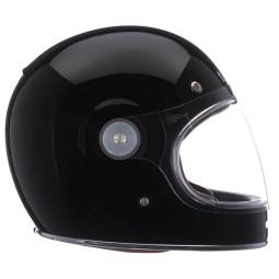 Casco Moto Vintage BELL HELMETS Bullitt Solid Black, Caschi Vintage