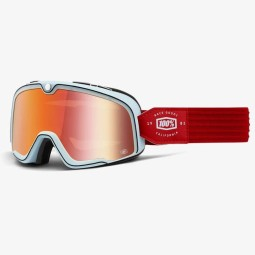 Motorcycle goggles 100% Barstow Carlyle, Motorcycle Goggles