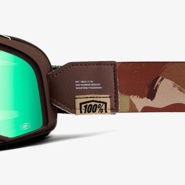 Motorcycle goggles 100% Barstow Pendleton