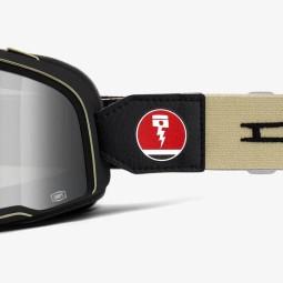 Motorradbrille 100% Barstow Dues EX Machina ,Motorrad Brillen / Masken