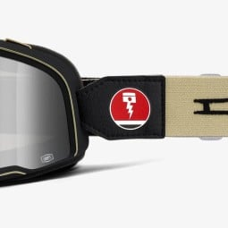 Occhiali moto 100% Barstow Dues EX Machina, Occhiali / Maschere Moto