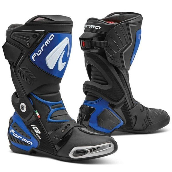 Motorcycle boots Forma Ice Pro black blue