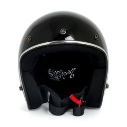 Casco jet ROEG Moto JETT gloss black, Caschi Jet