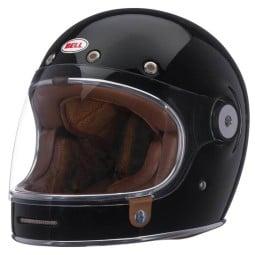 Motorcycle Helmet Vintage BELL HELMETS Bullitt Solid Black
