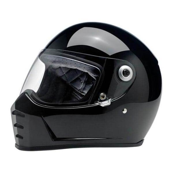 Motorrad helm Biltwell Lane Splitter gloss black