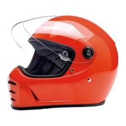 Casco de moto Biltwell Lane Splitter Hazard Orange