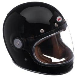 Motorcycle Helmet Vintage BELL HELMETS Bullitt Solid Black ,Vintage Helmets
