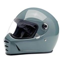 Motorcycle helmets Biltwell Lane Splitter gloss agave ,Vintage Helmets
