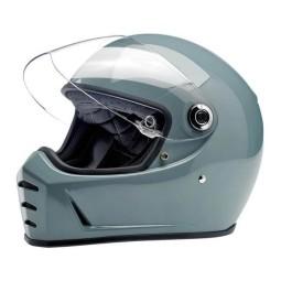 Motorrad helm Biltwell Lane Splitter gloss agave ,Vintage Helme