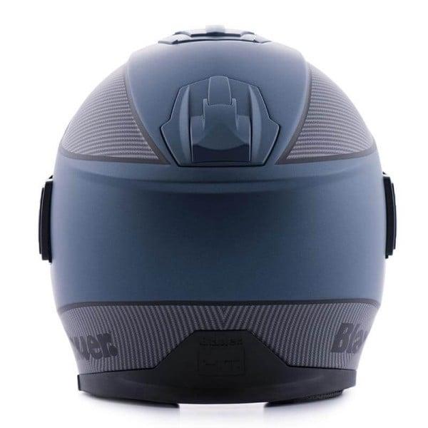 Motorcycle helmet Blauer Solo blue carbon
