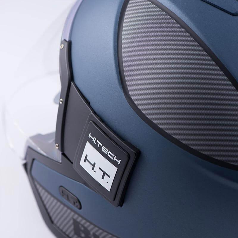 Blauer HT CASCO SOLO BLU-CARBON-BLACK MATT XL