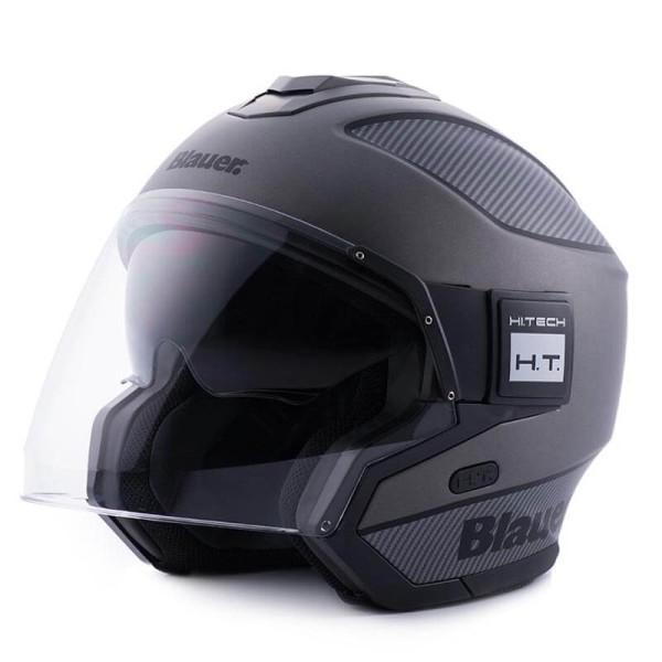 Motorcycle helmet Blauer Solo black carbon