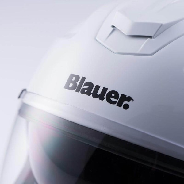 Casco moto Blauer Hacker blanco