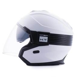 Casco moto Blauer Hacker blanco, Cascos Jet
