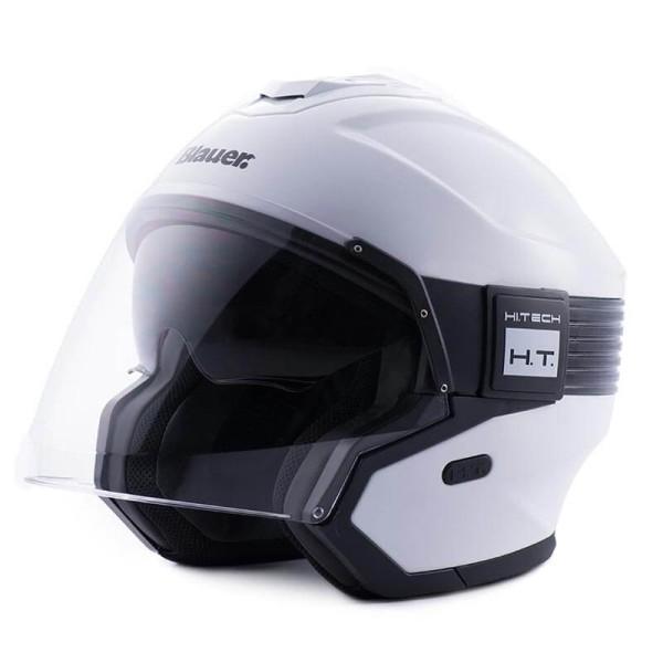 Motorcycle helmet Blauer Hacker white