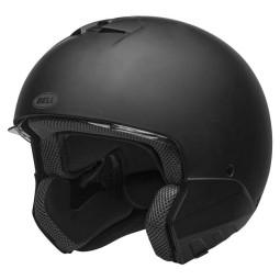 Motorrad helm Bell Broozer Matte Black ,Integral Helme