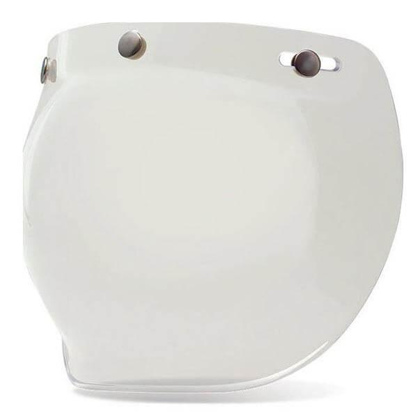 Visor Bell Custom 500 3-snap Bubble Clear