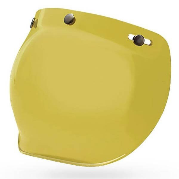 Visor Bell Custom 500 3-snap Bubble Yellow