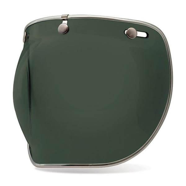 Visor Bell Custom 500 3-snap Bubble DLX Wayfarer Green