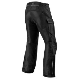 Motorcycle pants Rev it Outback 3 black ,Motorcycle Trousers