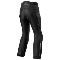 Motorcycle pants Rev it Outback 3 Ladies black, Motorcycle trousers