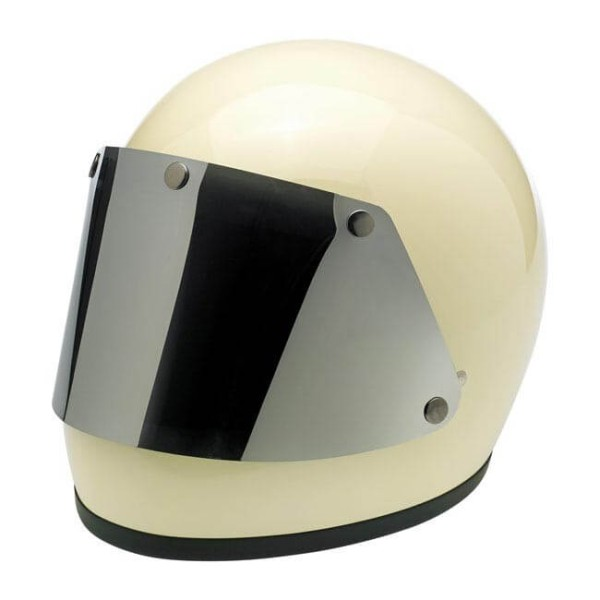 Visière Biltwell Gringo Blast Shield Chrome