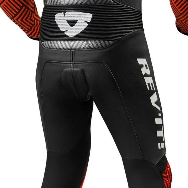 Traje moto Rev it Triton negro rojo
