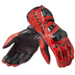 Motorcycle gloves rev it Jerez 3 red ,Motorcycle Leather Gloves