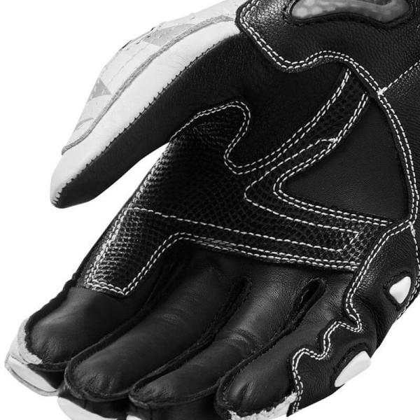 Motorrad-Handschuhe Rev it Jerez 3 grau