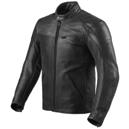 Chaqueta moto cuero Rev it Sherwood Air