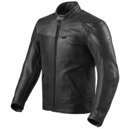 Motorradjacke leder Rev it Sherwood Air