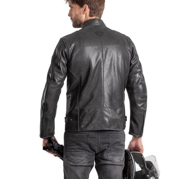 Chaqueta moto cuero Rev it Sherwood Air