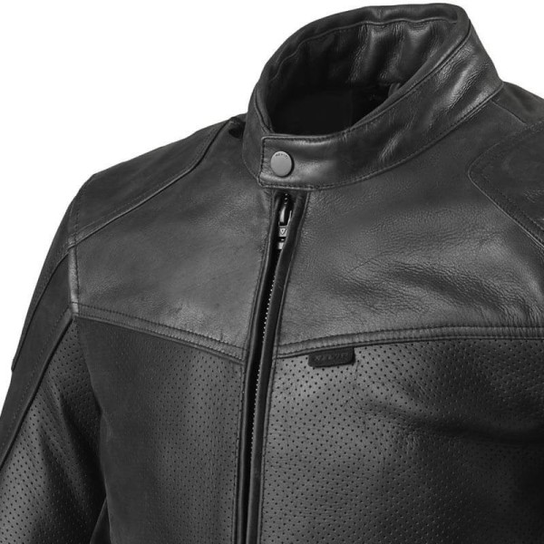 Motorcycle leather jacket Rev it Sherwood Air
