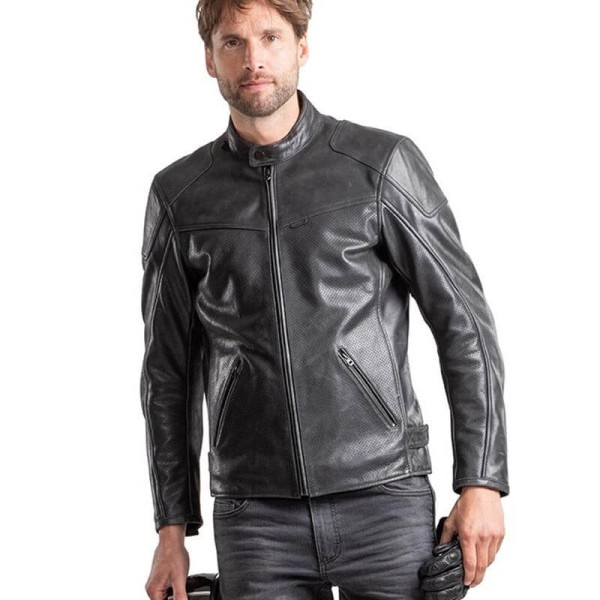 Blouson cuir moto Rev it Sherwood Air