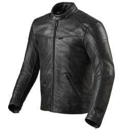Motorradjacke leder Rev it Sherwood