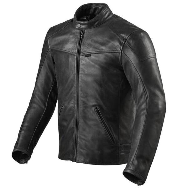 Motorcycle leather jacket Rev it Sherwood