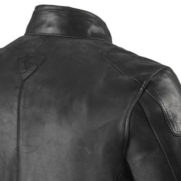 Blouson cuir moto Rev it Sherwood