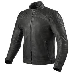 Motorcycle leather jacket Rev it Cordite black ,Leather Motorcycle Jackets