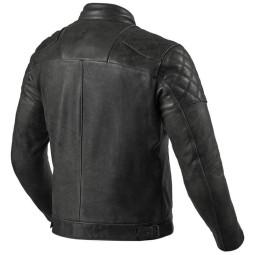 Chaqueta moto cuero Rev it Cordite negro, Chaquetas moto cuero