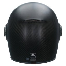 Motorrad Helm Vintage BELL HELMETS Bullitt Carbon Matt