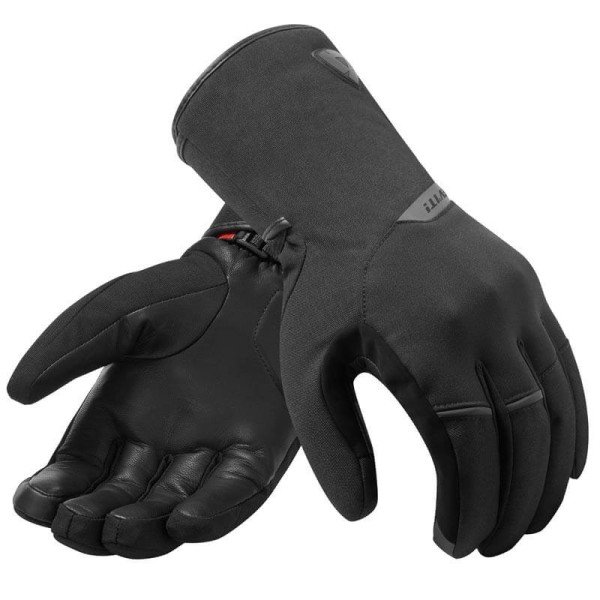 Guantes moto invierno Rev it Chevak GTX negro