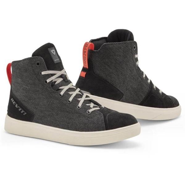 Chaussures moto Rev it Delta H2O noir