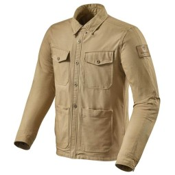 Motorcycle jacket Rev it Worker overshirt sand ,Motorcycle Textile Jackets